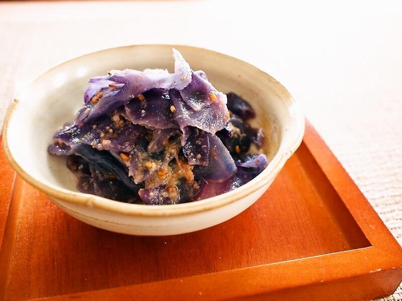 紫キャベツ和え